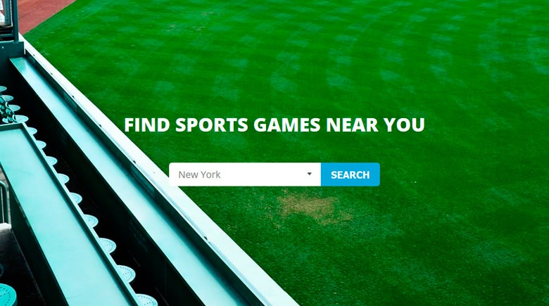 Web Design: Sports Where I Am