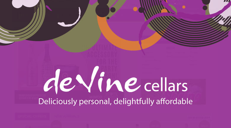 Web Design DeVine Cellars & Web Design Cambodia - K4 Media - Web Design Cambodia